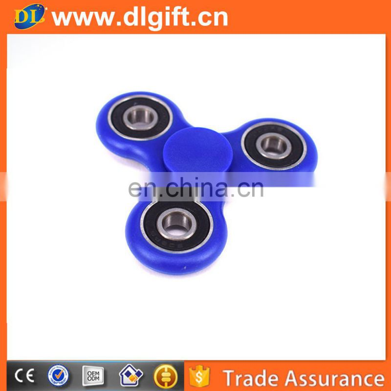 Global popular wholesale plastic fidget spinner toy for adult