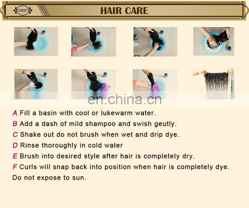 China factory wholesale high quality tight afro kinky curl human hair weave