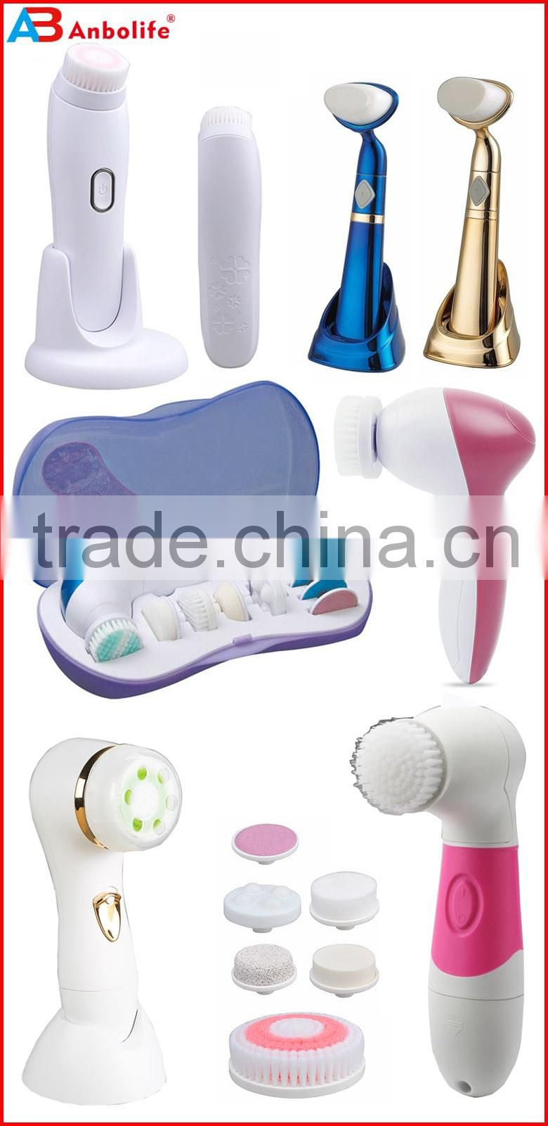 Mini electric face washing cleaner/cleaning facial brush/beauty tool facial brush personal beauty tools