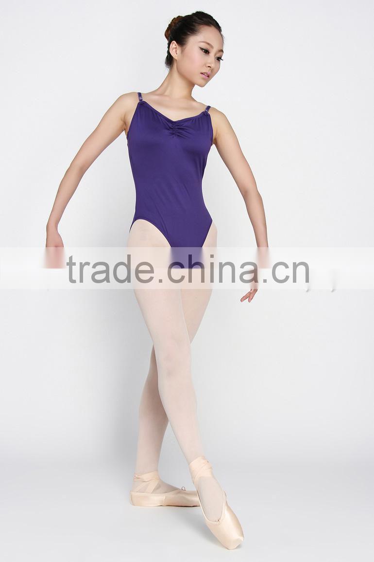 Dresses Obliging Kid Girls Long Sleeve Ballet Dance Dress Fitness Gymnastics Wear Leotard Costume
