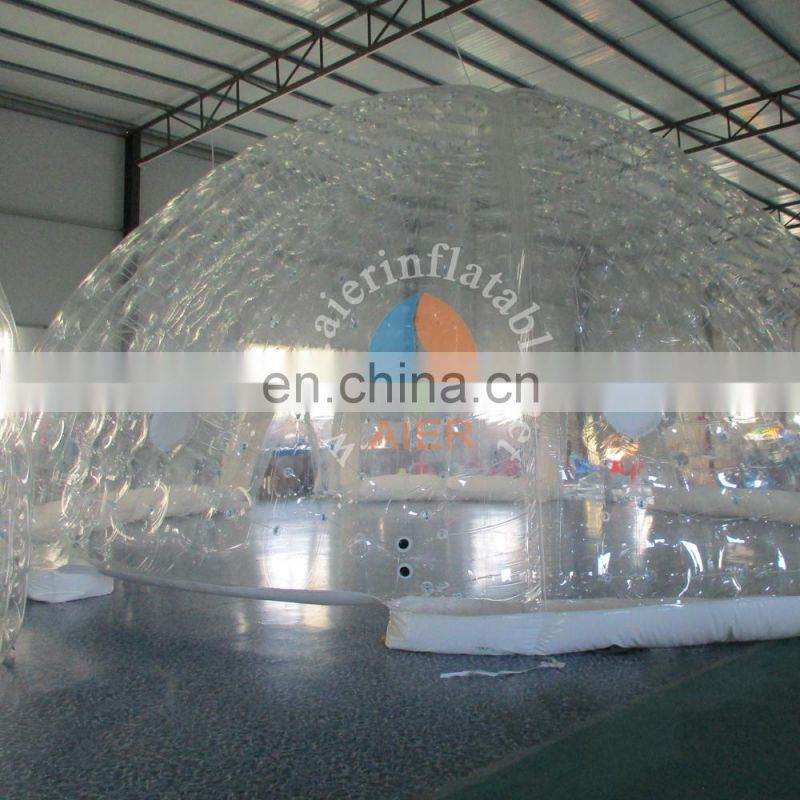 Clear Inflatable Camping Tent, Inflatable Lawn Tent,inflatable Outdoor party tent