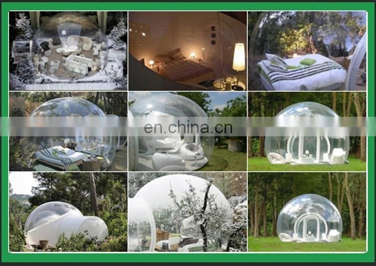 Inflatable Bubble Hut;Transparent Inflatable Bubble Camping Tent for Sale