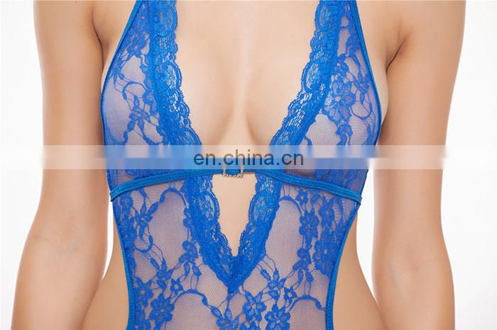Gold Supplier Sexy Micro Teddy Lingerie Plus Size Temptation Transparent Sexy Sleepwear
