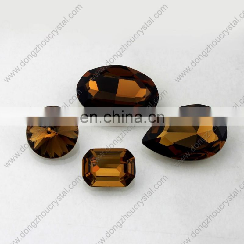 13x18mm oval egg shaped crystal stones for garment