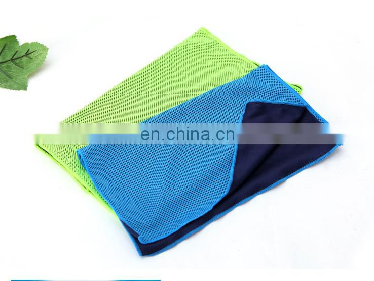 Summer cooling towels sport iced towels bamboo fiber ice towels 29*97cm 70g