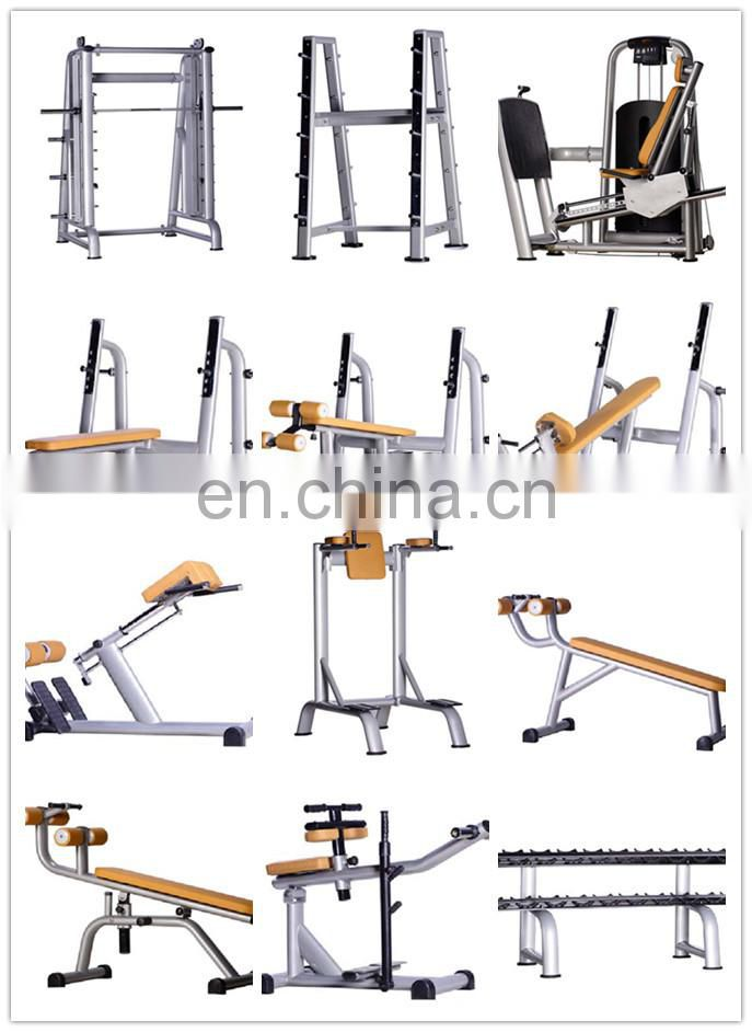 Horizontal bench:W9823 one-station commercial strength equipment/ body building gym equipments