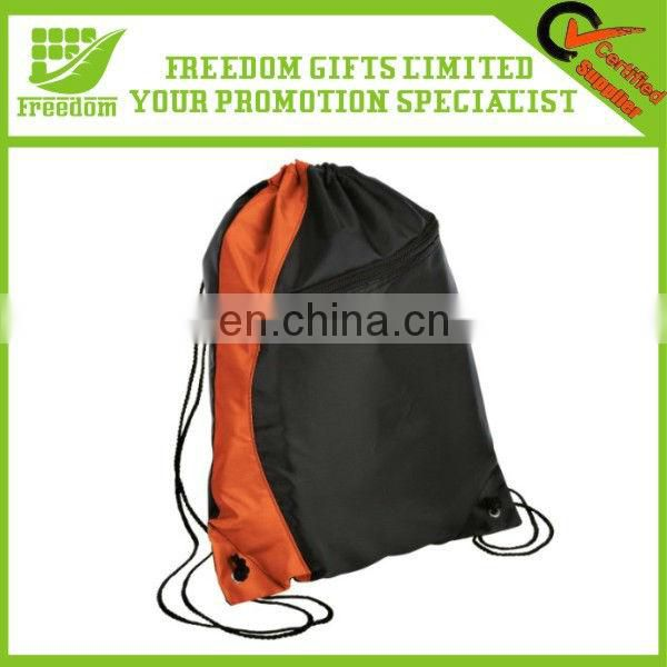 Silk Screen Printing Economical Sport Drawstring Pouch Bags