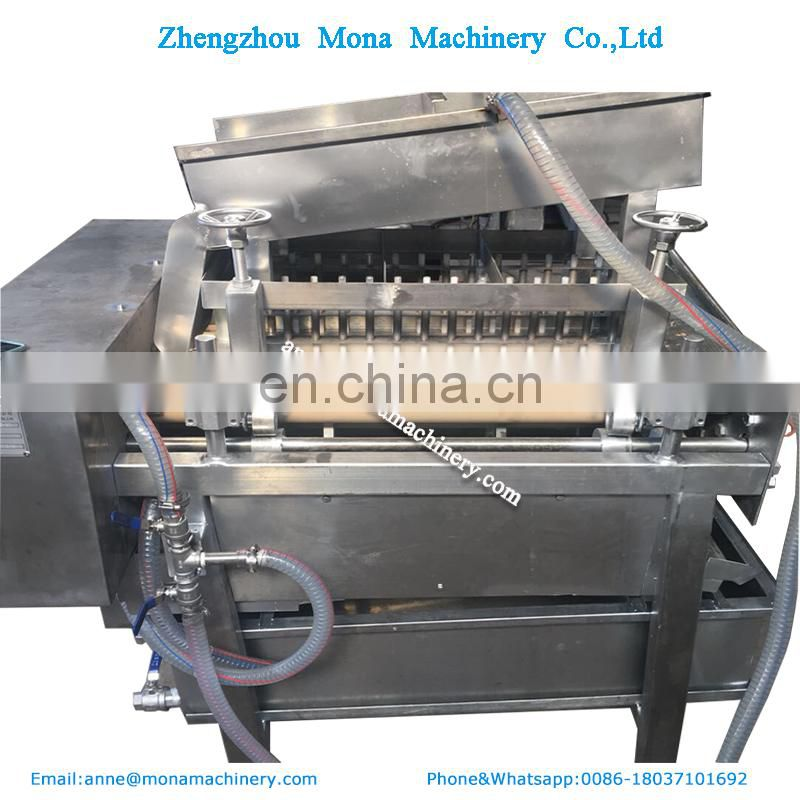 Stainless steel Argentine red shrimp peeling peeler machine |prawns peeling machine in Argentina