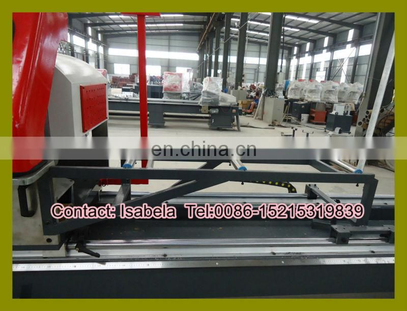 Double head precision cutting machine with digital display / Almuinum profile cutting machine