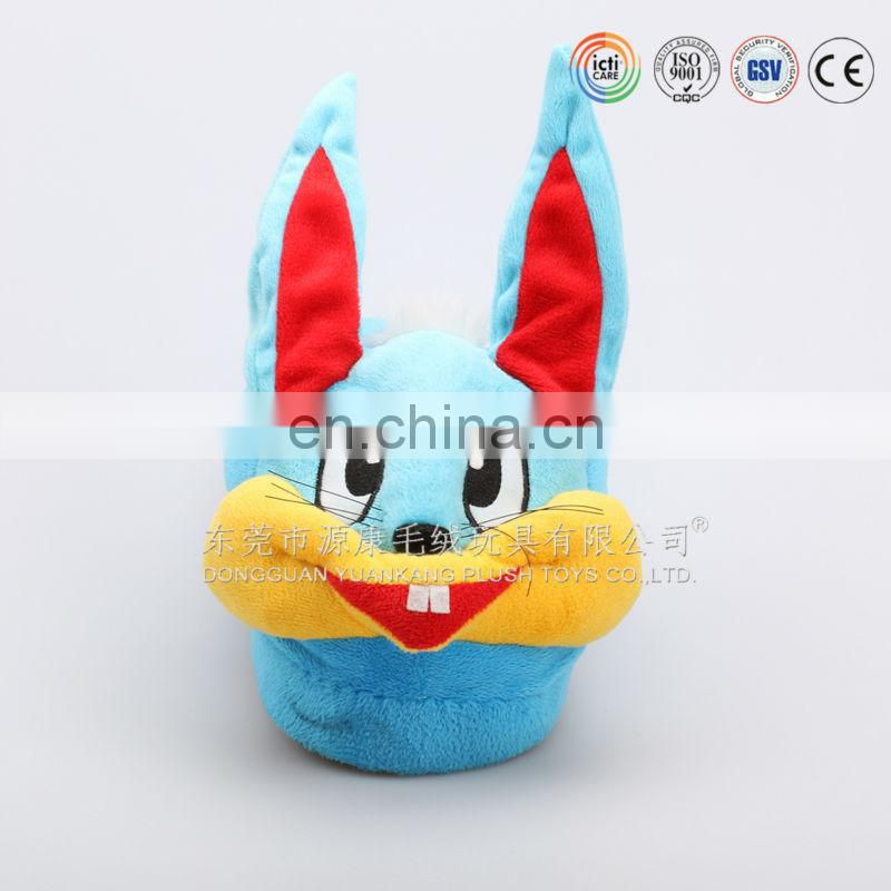 Indoor funny animal chicken plush slipper