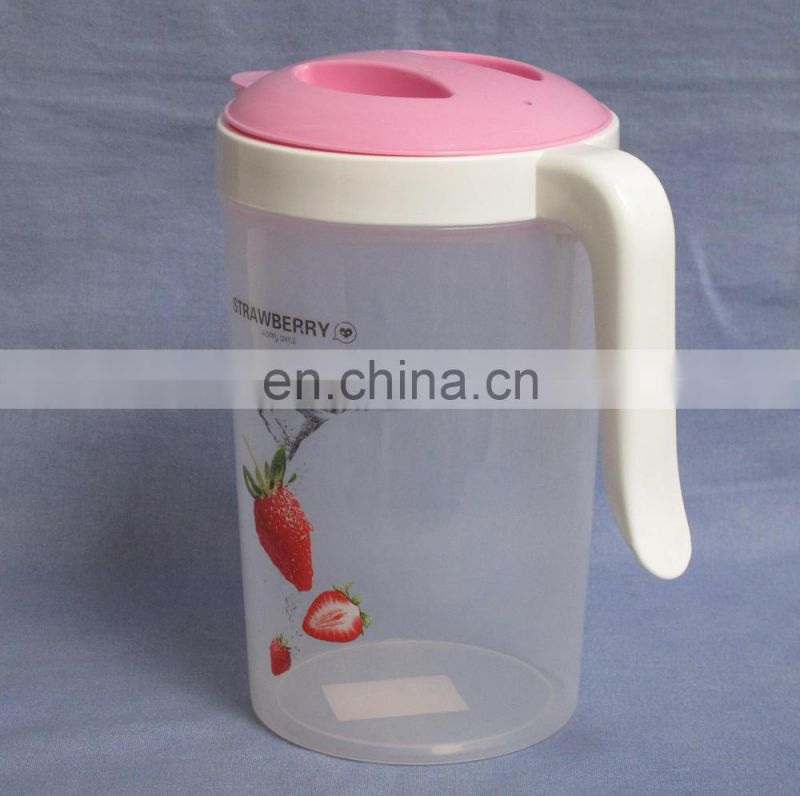 2015 good quality plastic water pitcher