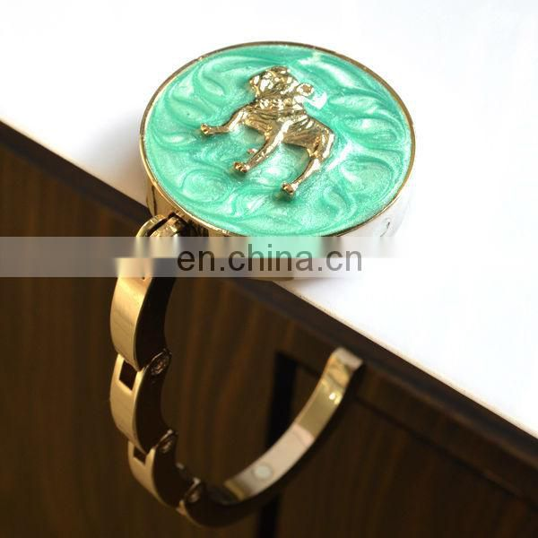 Wholesale metal handbag holders for table