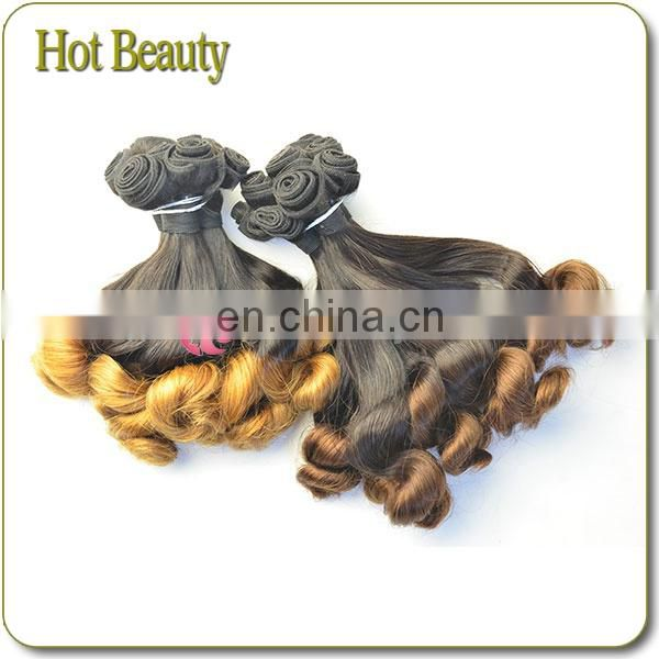 New Arrival 7Adark two tone honey blonde brazilian hair weave