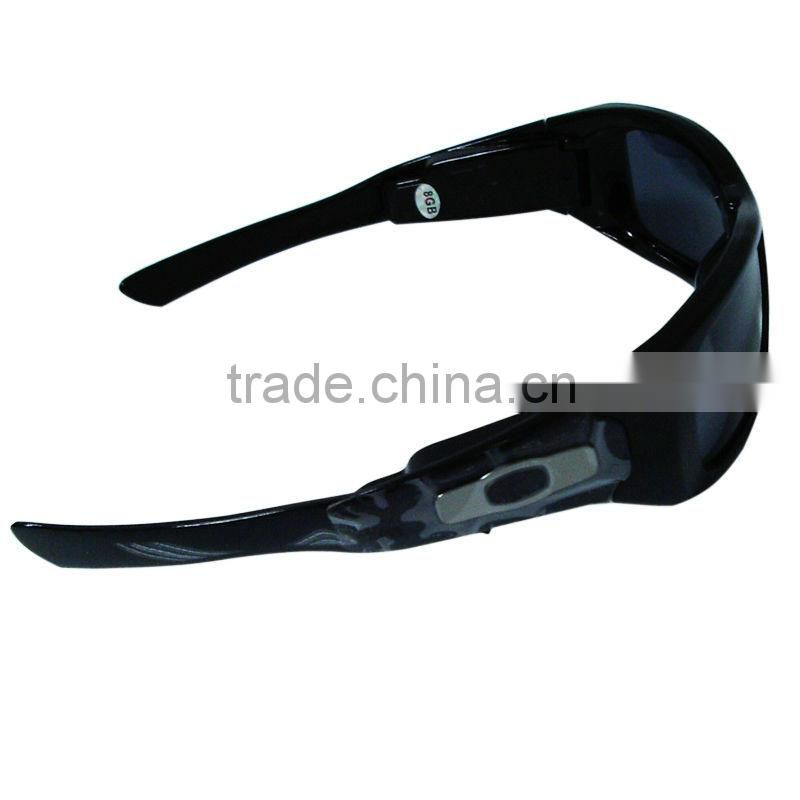 bluetooth sunglasses mp3 player video glasses with AVI built-in memory