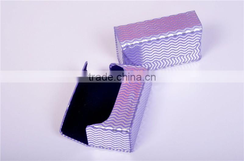 Folding eyeglasses box folding eyeglasses case handmade glasses case