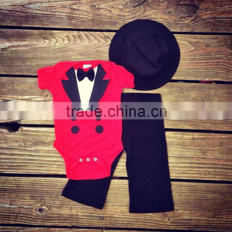 Hot Newborn Baby Girl Clothing Set (Romper+Hat+Pants 3 pcs) Infant Baby Boys Clothes Babies Pajamas Roupas