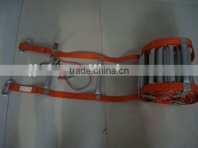 Aluminum Folding fire aluminum rope ladder
