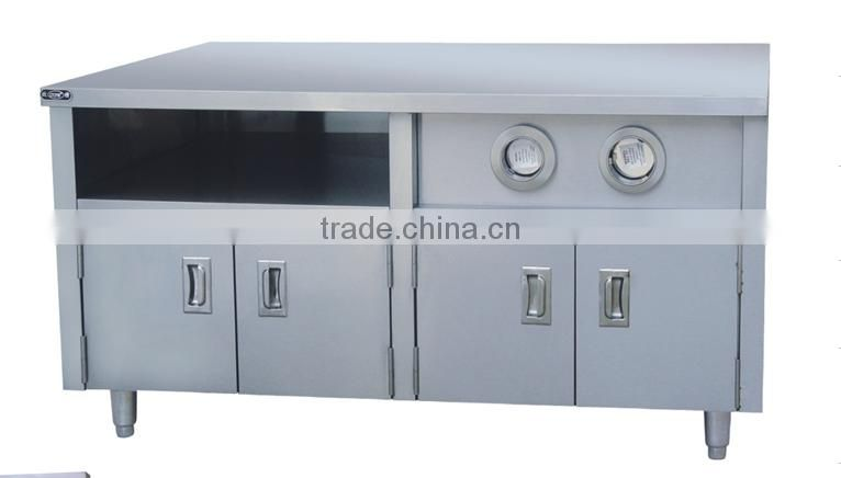 Commercail stainless steel kitchen cabinet/Centre Cabinet