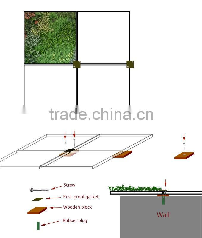 Only $ 1 for Artificial outdoor plant wall sample (Off-price Merchandise for sale new goods )