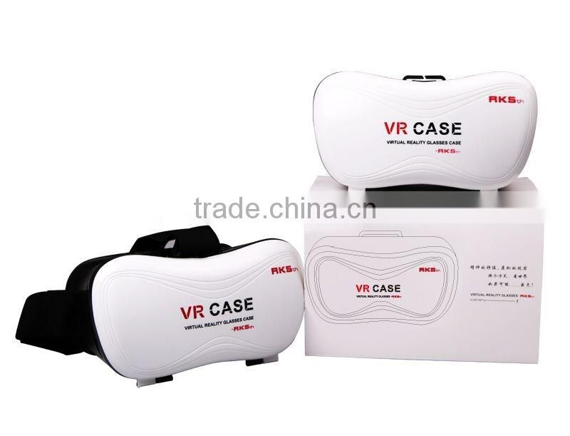 3D VR Virtual Reality headset Glasses with Remote Control for 3.5 to 6 inches smartphones Iphone 6s 6 Plus Samsung Galaxy series