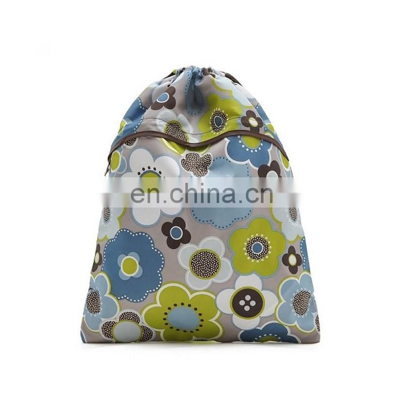 Wholesale pretty full colorful cheap drawstring bags for children