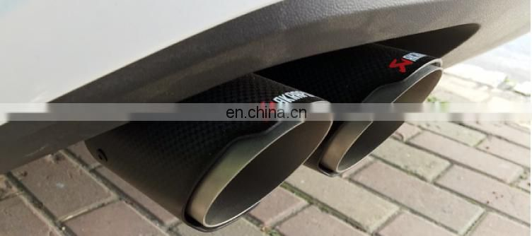 akrapovic carbon fiber exhaust tip 2016 hot sale