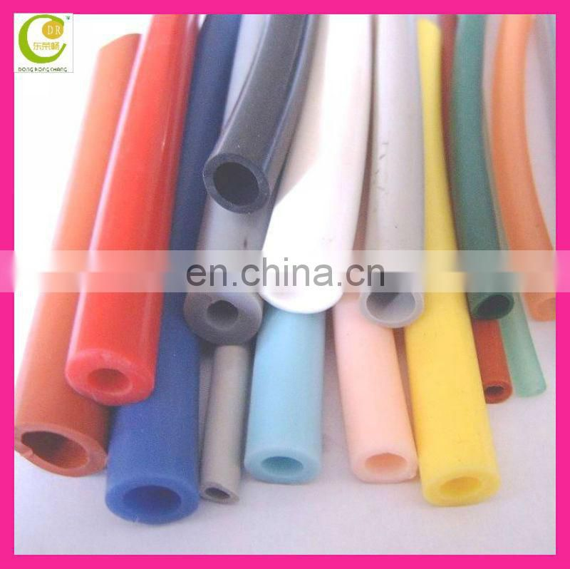 Anti-static 100% Medical Grade Silicone Rubber Tube