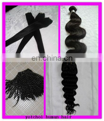 Cheap !!! hot sale factory cheap price super high quality cheap and high quality 100% human brazillian hair extensions