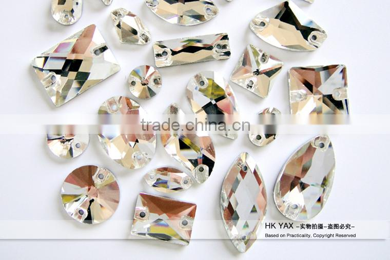 0609C Free sample hot sale sew on crystal, crystal sew on for dress, sew on crystal for garment