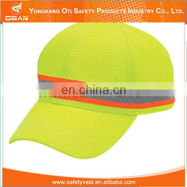 Cheap price good quality yellow safety reflective caps