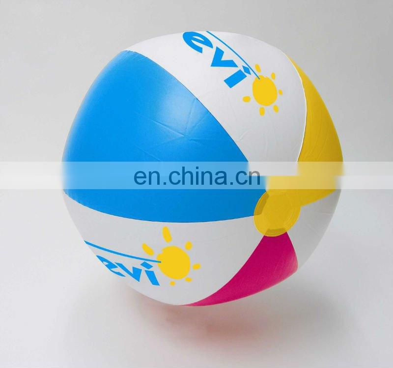 4 Color Inflatable Beach Ball