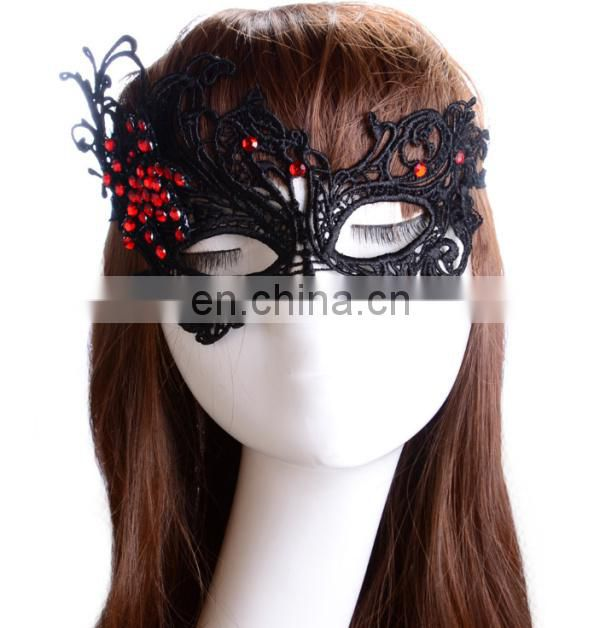 2017 China Supplier Wholesale Women Crystal Decorative Christmas Masks
