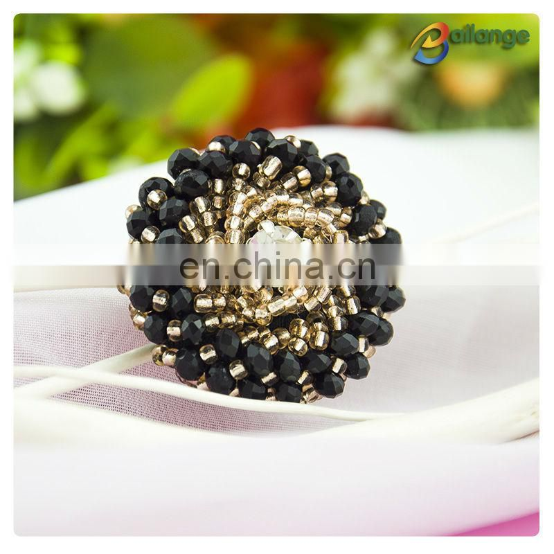 Bailange 2015 Wholesale fancy designer coat clothing buttons beaded buttons customized button badge for clothing