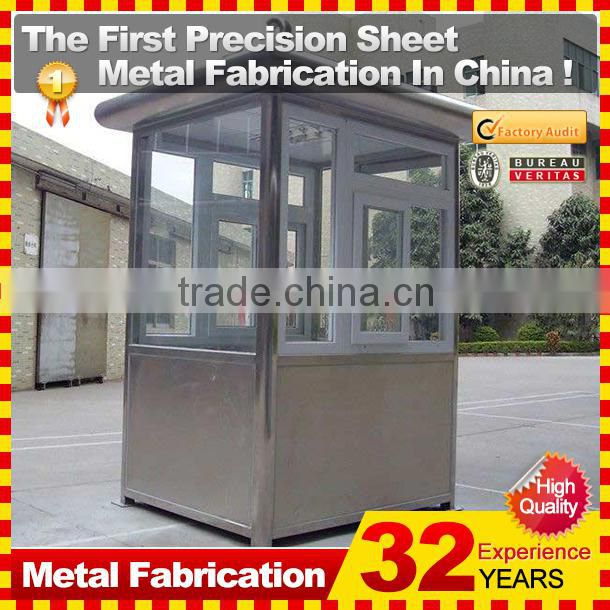 custom portable prefab sentry guard booth for security