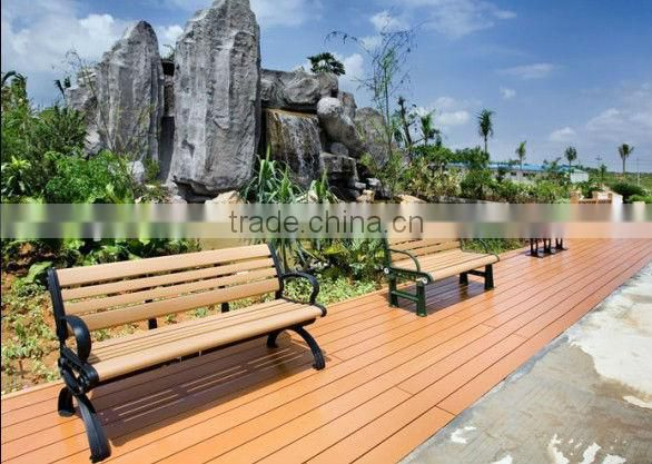 Yuante Beautiful Anti-corrosion, Anti-aging, Sunscreen, Weather outdoor/ garden wood plastic composite / wpc chair