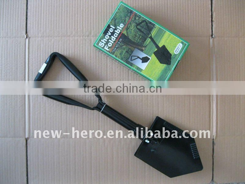 Color box packaging Foldable Shovel