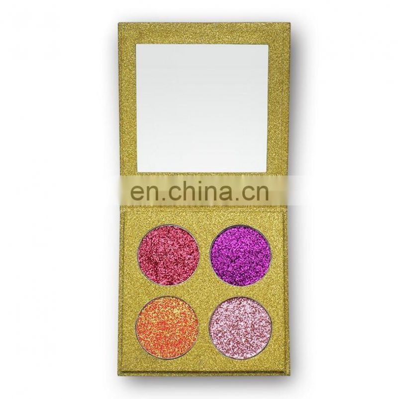 2017 hot sales eye shadow eyeshadow palette 4 color pearl eye shadow private label eye shadow