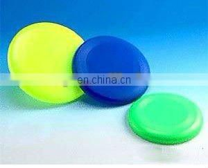 promotional plastic silicone foldable frisbee