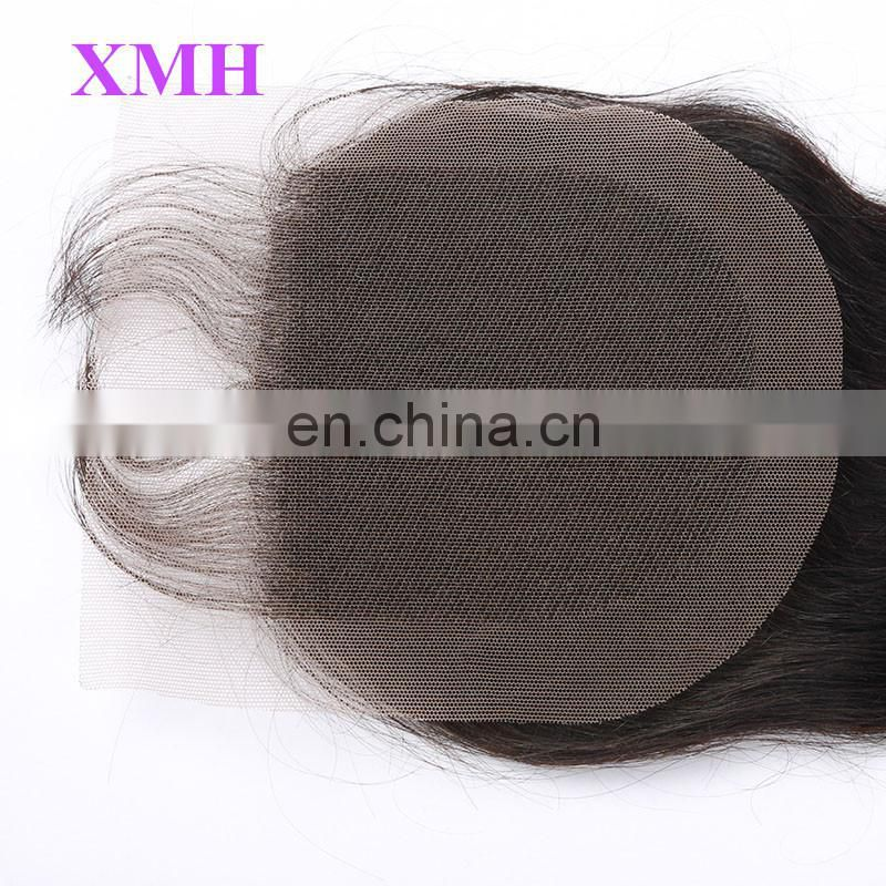 cheap human hair lace closure brazilian deep wave closure