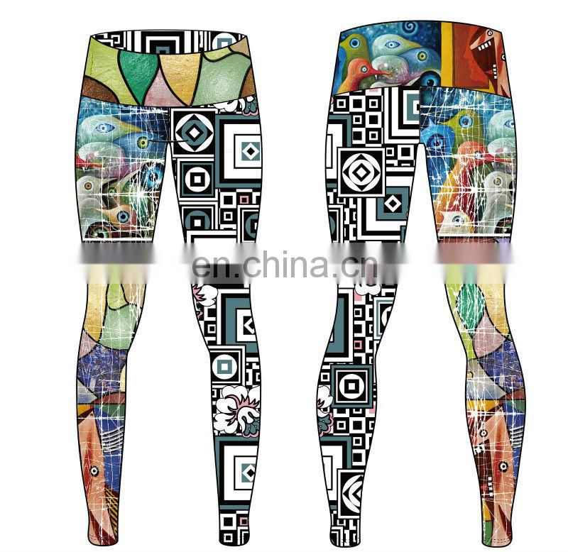Top quality high waist cheap tights fitness yoga leggings for women