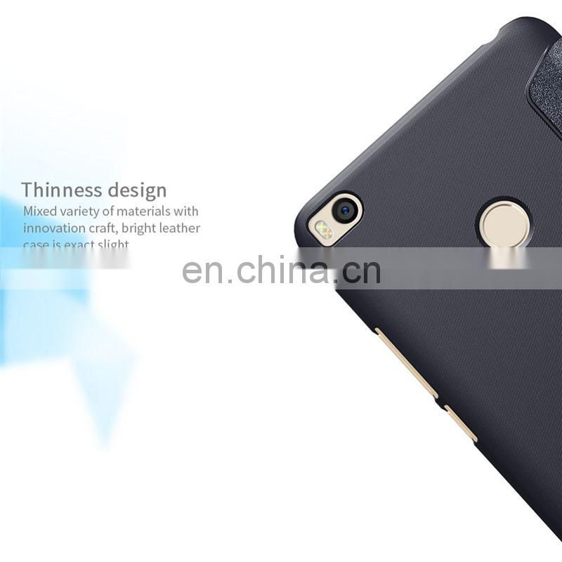 Professional leather phone wallet wholesales, for mi max 2 covers