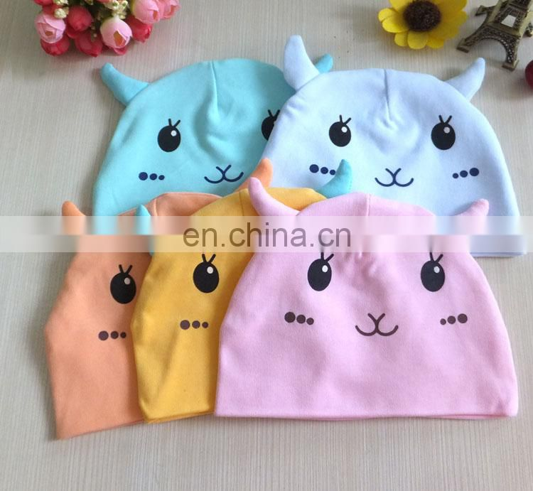 Cute unisex design fashion baby caps wholesale trendy cotton baby hats