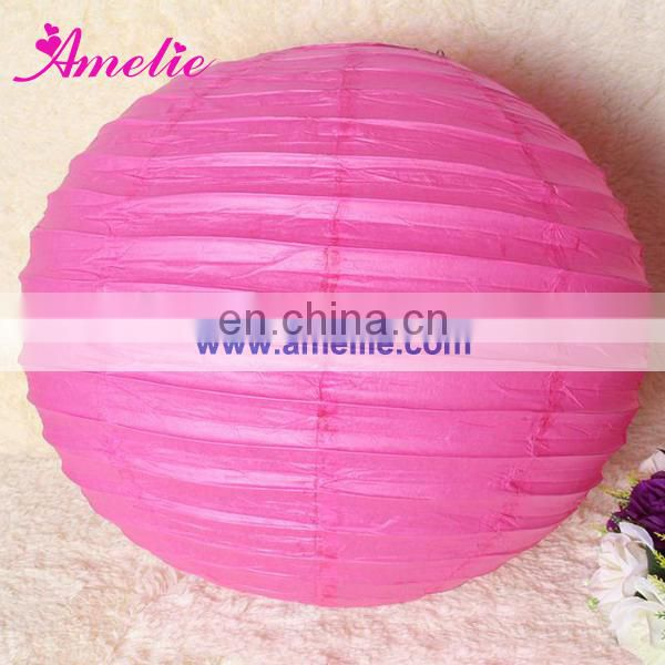 A80PL Fuchsia lighting paper lanterns