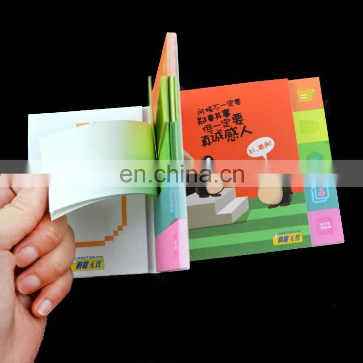Cute square sticky custom memo pad