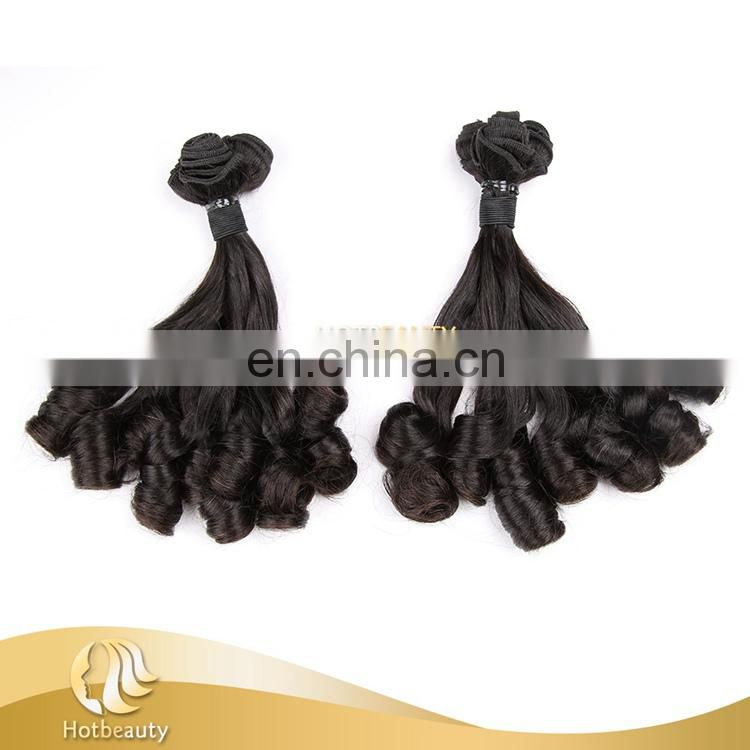 Hot Sell Hair in Nigeria Top Grade Double Drawn Funmi Spiral Curl Human Hair
