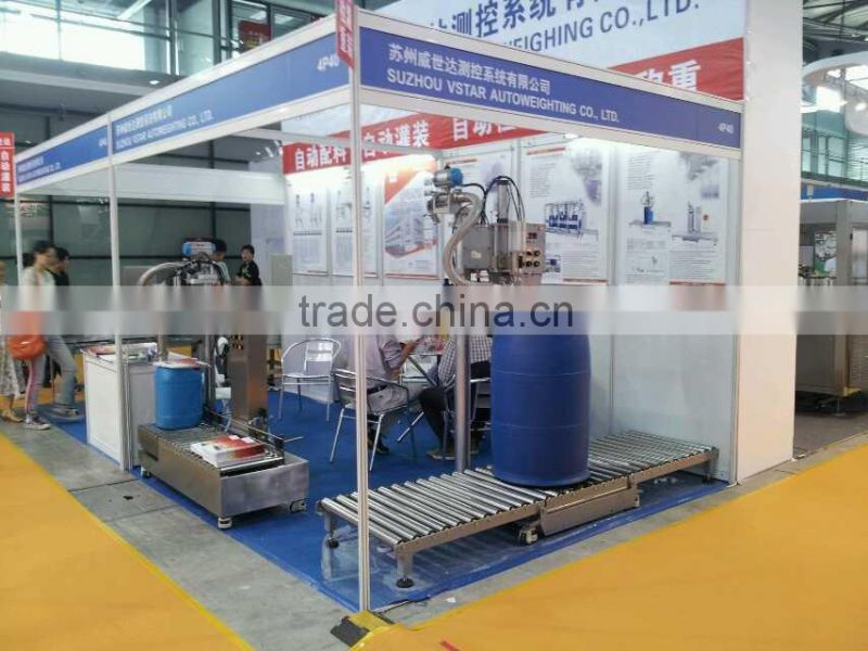 25L Chemical eight drums Pallet Filling Machine