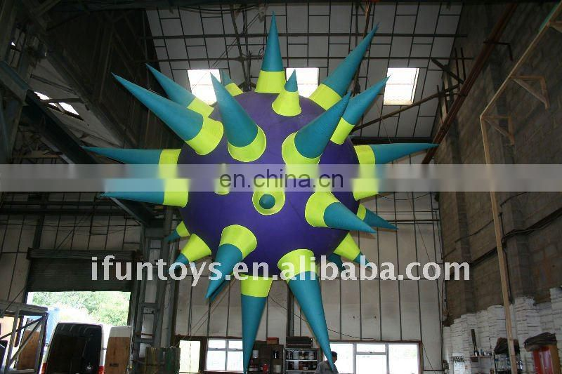 New year inflatable stage decoration star