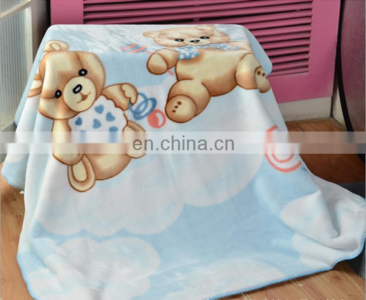 Super Soft Animal Cartoon Polar Fleece Baby Blanket
