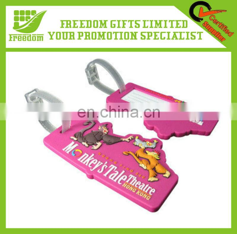 Promotional Most Popular Customized Luggage Tag