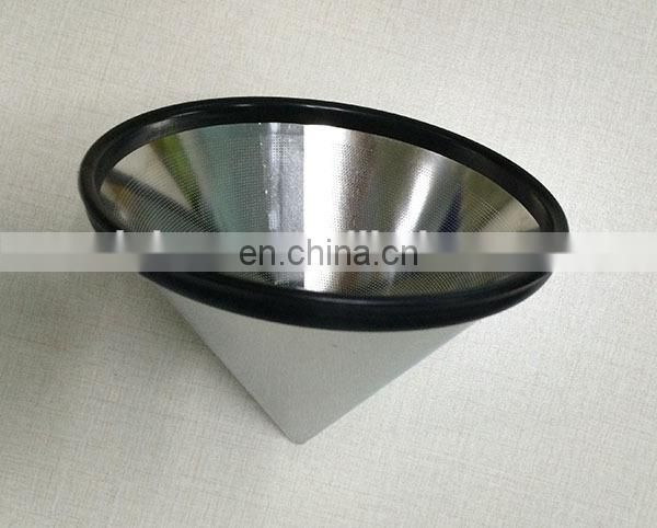 Custom precision 10 micron stainless steel filter mesh coffee filter paper bag